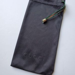 Gucci Bags - Gucci Sunglasses Glasses Dust Bag Black Red Green